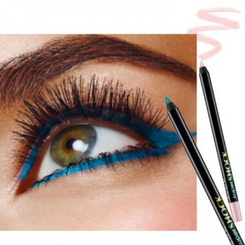 Как одним карандашом для глаз сделать макияж