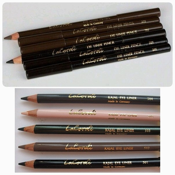 Как выбрать цвет карандаша для глаз. Выбираем цвет карандаша для глаз.