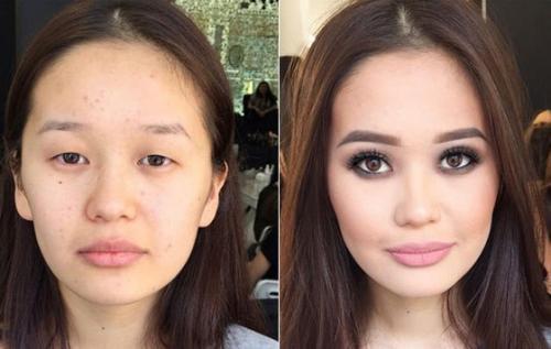 Увеличить глаза с помощью макияжа