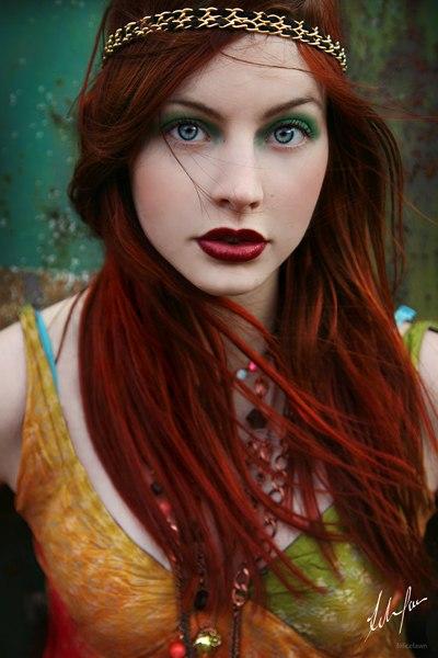 Красные волосы - огонь!