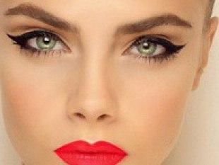 Лёгкий и сексуальный макияж глаз