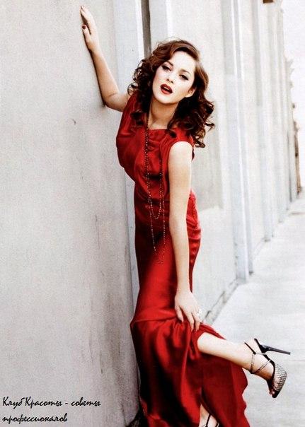 a01ba7d898e Красота. Макияж под красное платье.