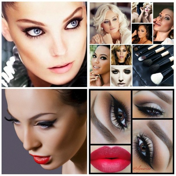 Как сделать себе макияж на фото 927