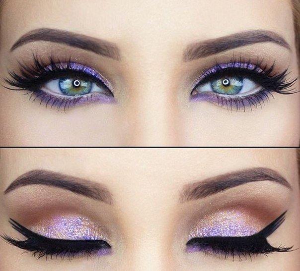 Как сделать глаза выразительными с помощью макияжа. Как сделать глаза выразительней с большой помощью декоративной косметики