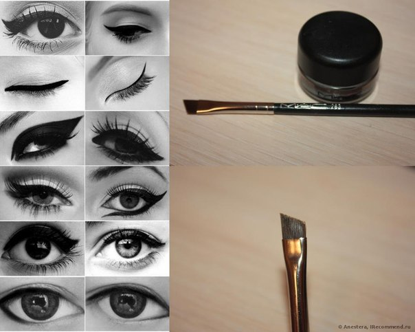 Рисовать стрелки на глазах пошагово. Учимся Рисовать Стрелки НА Глазах.