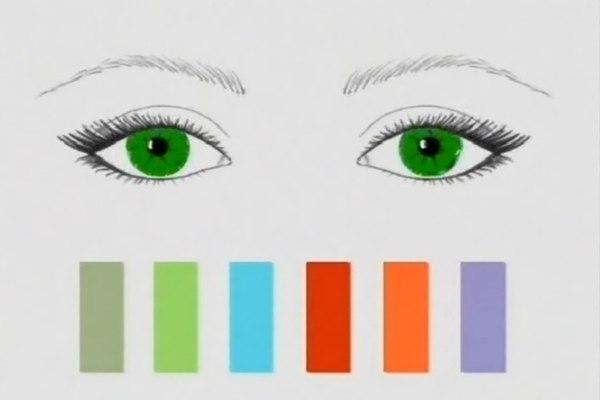 Как правильно подобрать тени к цвету глаз. Как подобрать цвет теней под цвет глаз?