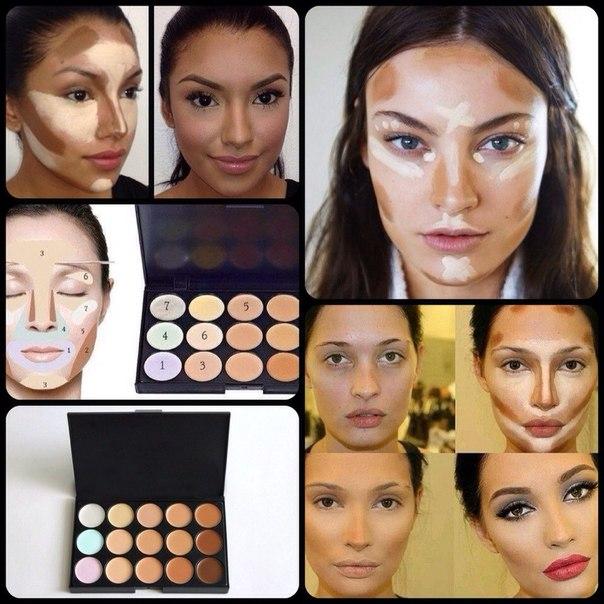 Как правильно сделать макияж корректором
