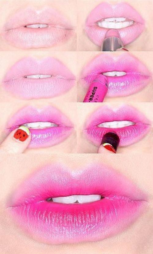 Как сделать мягкие губы