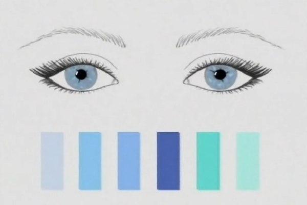 Под цвет глаз макияж. Как подобрать цвет теней под цвет глаз?