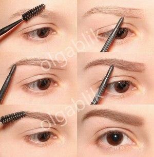 Как сделать в глаз макияж если нет век 62