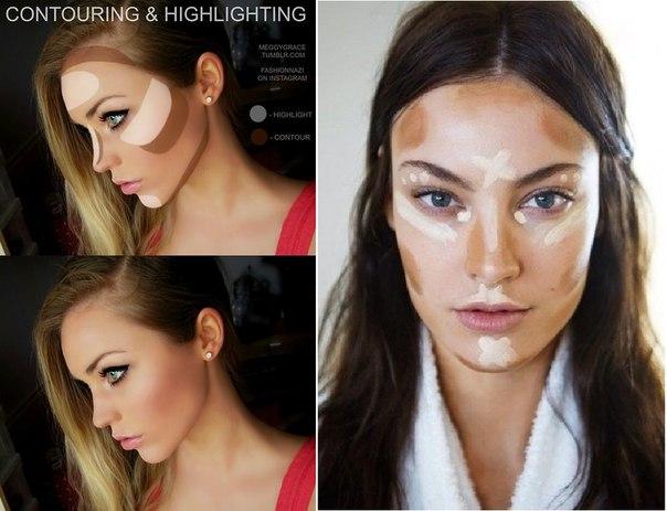 Сделать макияж с помощью фото