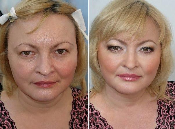 Как сделать вечерний макияж для возрастной кожи