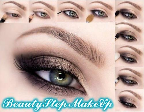 Eye makeup makeover