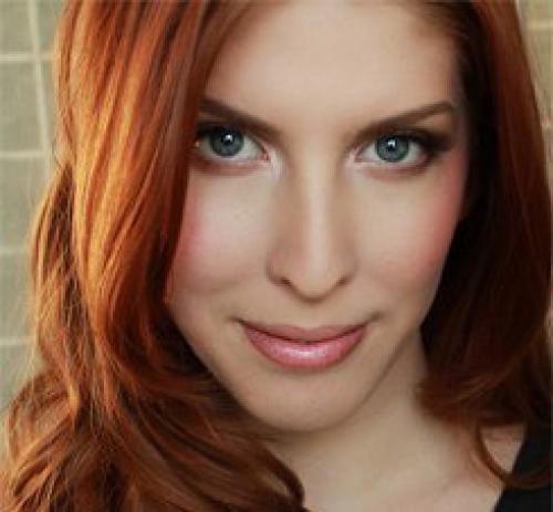 Red hair brown eyes makeup