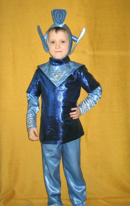 Костюм инопланетянина своими руками для мальчика из подручных материалов