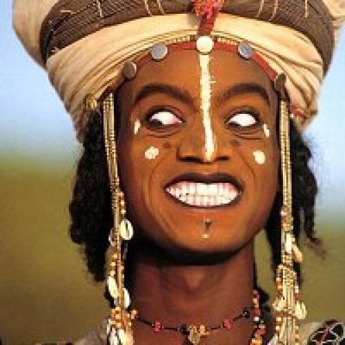 Это потрясающе! Племя водаабе (Нигерия).
