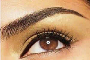 перманентный макияж светлых бровей фото