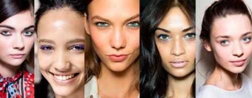 Как сделать макияж из теней и туши