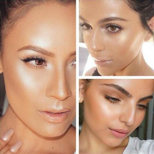 f1f65f58954 Еще одна тенденция стробинг - это техника макияжа