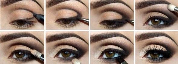 болотный цвет глаз макияж фото