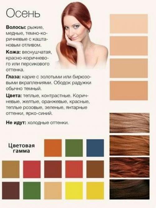 Приглушенный оттенок волос, но кожа так же имеет красновато-рыжий подтон