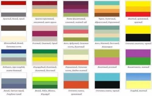 Законы цветовых сочетаний в одежде: