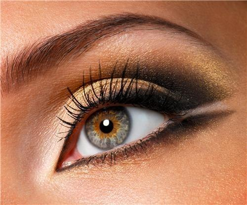 Hazel eyes makeup makes