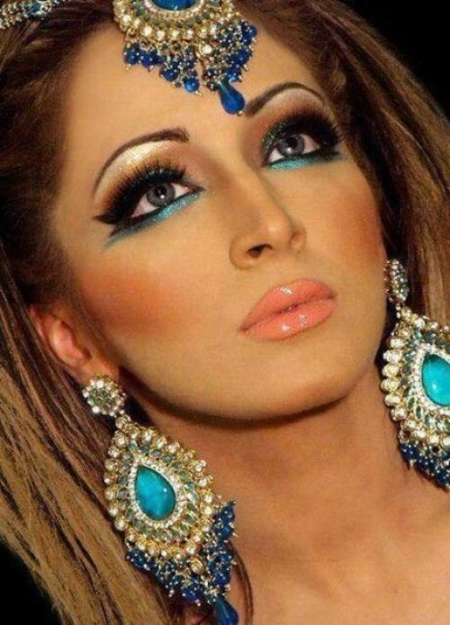 Сексуальный арабский макияж