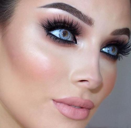Карандашная техника в макияже фото и видео » Макияж 26