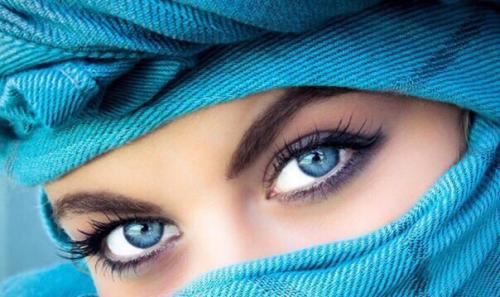 Секрет чарующего взгляда восточных женщин.
