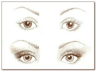 Как красиво накрасить глаза. 07