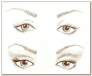 Как красиво накрасить глаза. 03
