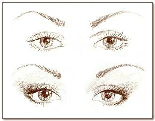 Как красиво накрасить глаза.