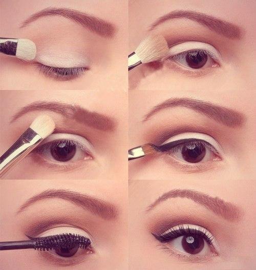 Как сделать косметику тени