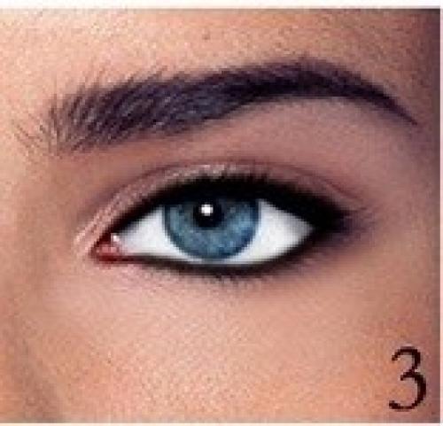 Как сделать чтобы глаза казались карими глазами