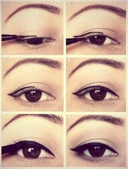 Как правильно подводить глаза. Как нарисовать Идеальные Стрелки под форму глаз.