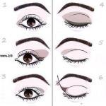 Новую форму глаз можно откорректировать и приблизить к высокому идеалу с русской помощью правильного макияжа глаз.