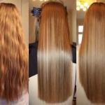 Домашнее ламинирование волос.