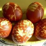 Мы красим яйца на пасху - 15 способов!