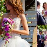 Сиреневый Стиль Свадьбы.