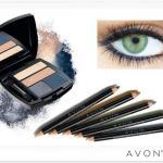 Сезонная коллекция четырехцветных теней для век и карандашей для глаз от Avon позволяет создать макияж, идеальный именно для твоих глаз.