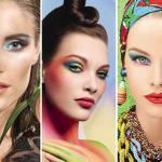 Самый лучший макияж для лета: Актуальная «радуга».