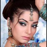 Восточный макияж — техника и примеры (фото).