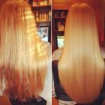 Ламинирование волос желатином в домашних условиях.