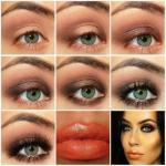 Темные волосы и светлые глаза - достаточно редкое и очень красивое сочетание, которое уже само по себе привлекает внимание.