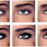 Smoky Eyes.  Возьмите мягкий карандаш - его цвет зависит от выбранного большого оттенка теней.
