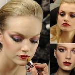Модные тенденции 2014 года в макияже порадуют и любительниц натурального мэйка, и тех, кому нравится поярче.