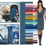 Серо-синий цвет. Цвет балтийский или серо-синий цвет.