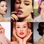 Пин Aп Макияж (Pin-Up Makeup: Фото, советы и уроки по созданию ретро-образа.