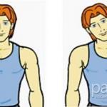 Фитнес упражнения для шеи и плеч.